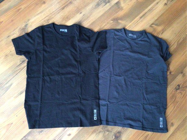 2x męski t-shirt BIG STAR M