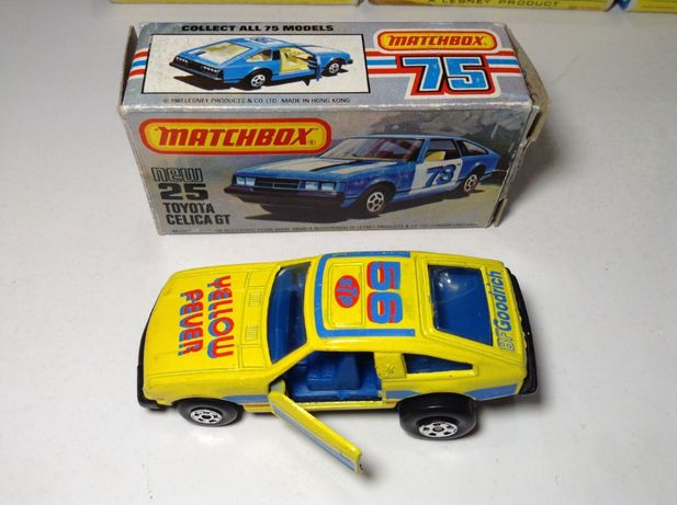 MATCHBOX Superfast TOYOTA Celica GT - 1981 made in Hong Kong