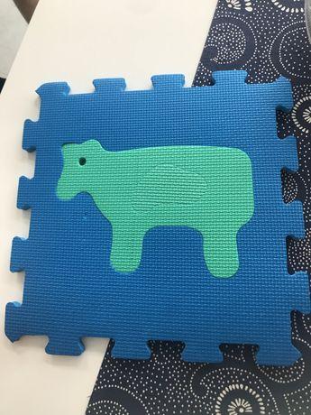 Puzzle piankowe 1,8m (20 szt po 30/30cm)