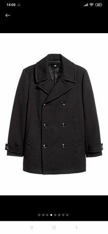 Новое пальто двубортные h&m на 52 размер