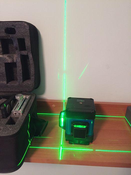 Новинка 2019! С Пультом Лазерный уровень нивелир 3D Нижний Зеленый луч Львов - изображение 1