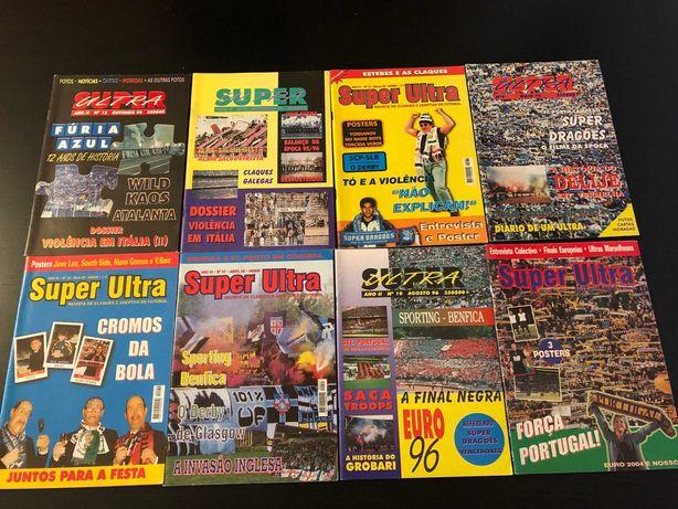 Revistas Super Ultras , Adeptos , Jogador12 .. revistas de claques