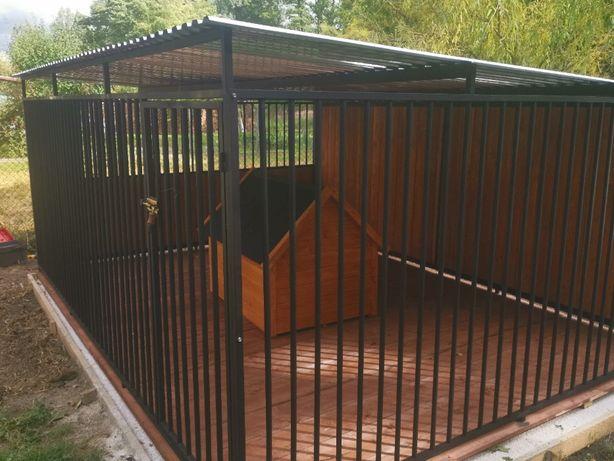 Kojec dla psa Boks Klatka buda 5x3 m