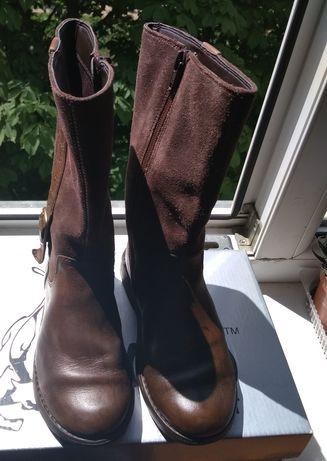 Сапоги ботинки Clarksр 28