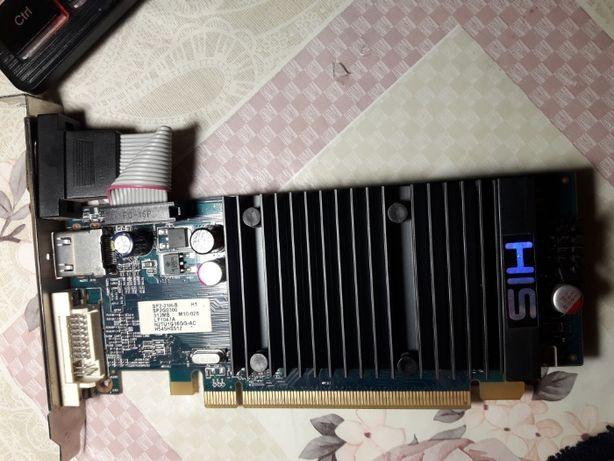 HIS ATI Radeon 5450 Silence 512MB DVI VGA HDMI PCI-e DirectX 11