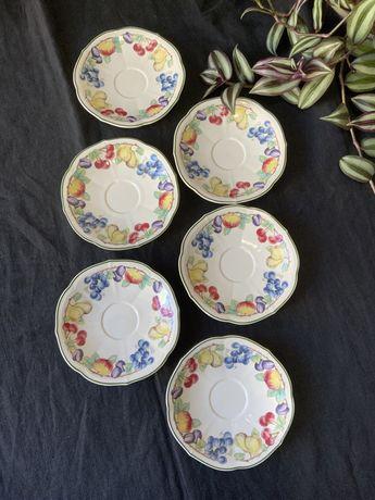 Набор фарфоровых тарелок Villeroy & Boch