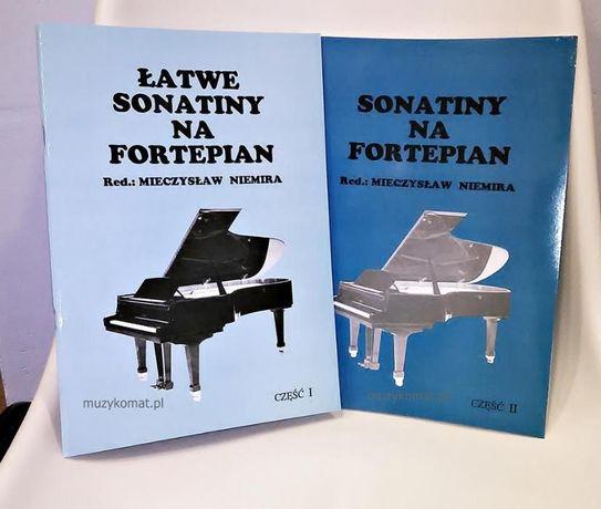 Sonatiny na fortepian, cz. I i II - Mieczysław Niemira