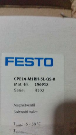 Elektrozawór FESTO CPE14-M1BH-5L-1/8