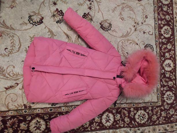 Куртка зимова для дівчинки