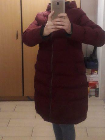Куртка бордовая, двухсторонняя