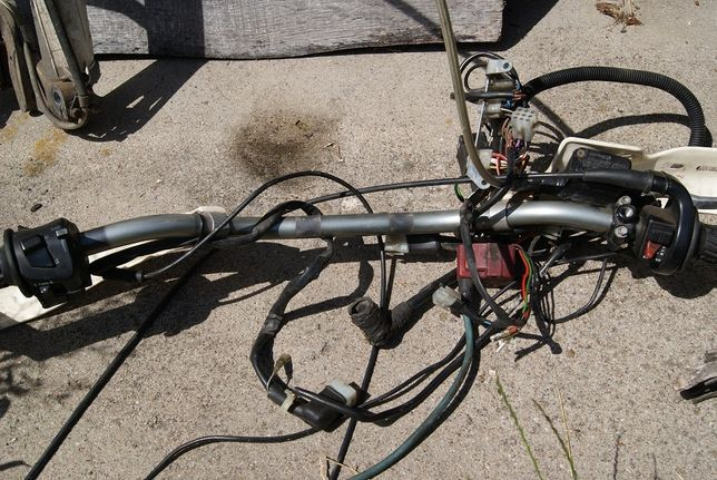 KTM LC4 620 Manetka gazu