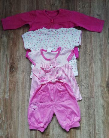 Zestaw ubrań dla dziewczynki rozmiar 68, 44 szt