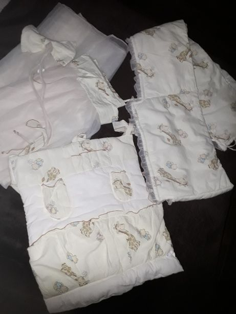 Защита и карман на детскую кроватку Piccolino