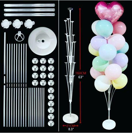 Акция на стойки на 19, 13, 7 шаров, фотозоны, шары и декор
