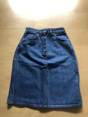 Spodnica jeansowa Levis XS