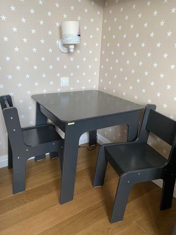 Zestaw stoliczek krzesełko dla dziecka Baggi