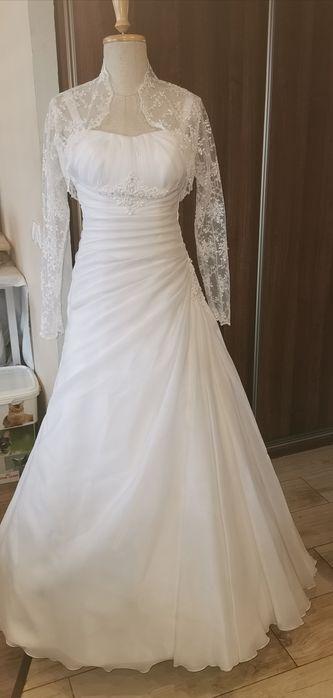 Suknia ślubna i bolerko Orzesze - image 1