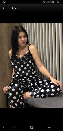 Пижама женская велюровая р.42-44