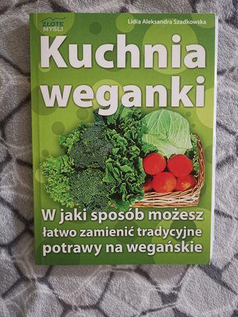 """Książka kucharska """"Kuchnia weganki"""" L. A. Szadkowska"""