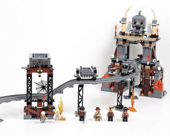 Lego Indiana Jones 7199 Temple of Doom / Świątynia Zagłady UNIKAT