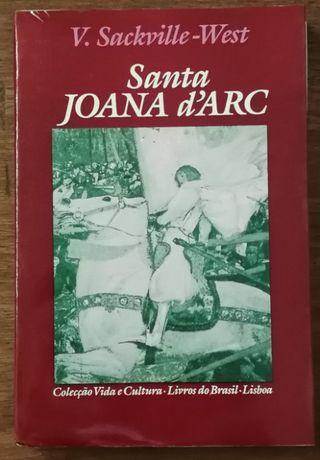 santa joana d`arc, v. sackville-west, livros do brasil