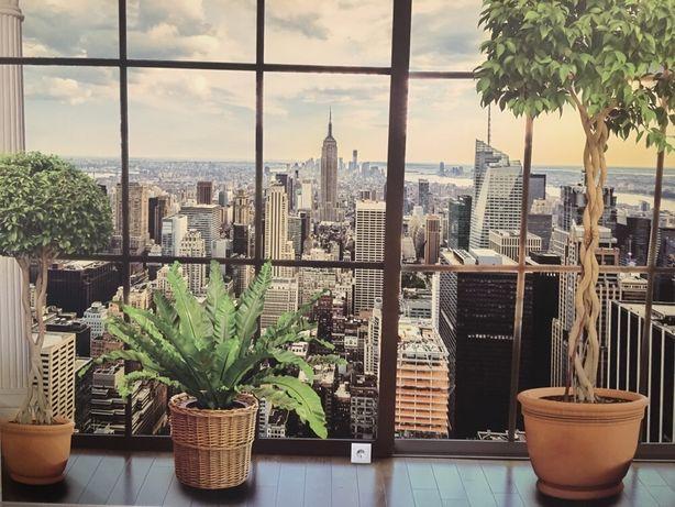 3-D фотообои на качественном полотне, размер 3270*2630, Манхеттен
