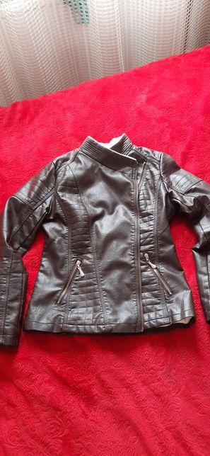 куртка женская кожзам Indebted xl
