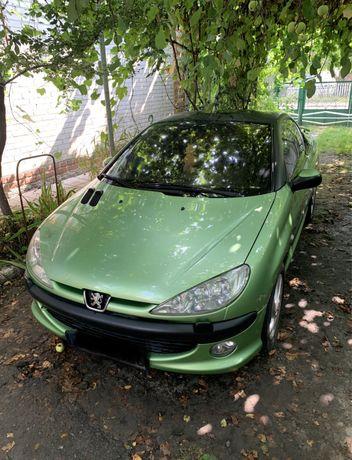 Продам Peugeot 206cc кабриолет под расстаможку
