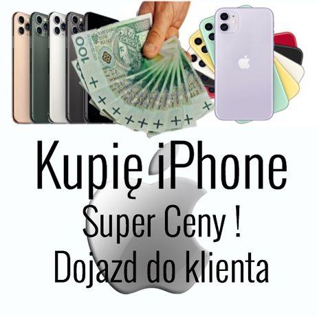 Skup #iPhone Super Ceny ! Każdy-Nowy, Używany, Uszkodzony, nie komp..