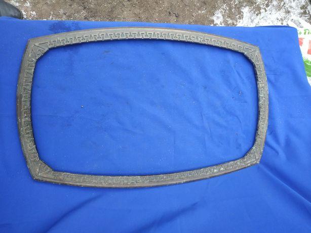Металлическая рама для зеркала литая алюминиевая ссср