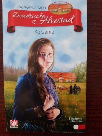 """Książka """"Dziedziczka z Alvestad"""""""