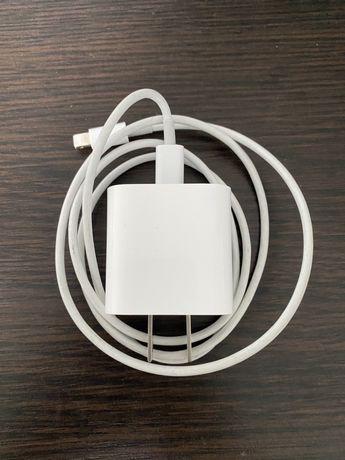 Комплект быстрой зарядки для iPhone, Адаптер питания 18W с кабелем USB