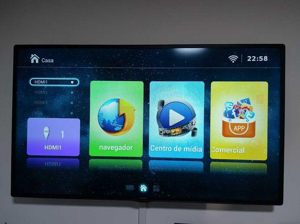 Smart tv LED Silver 50 polegadas