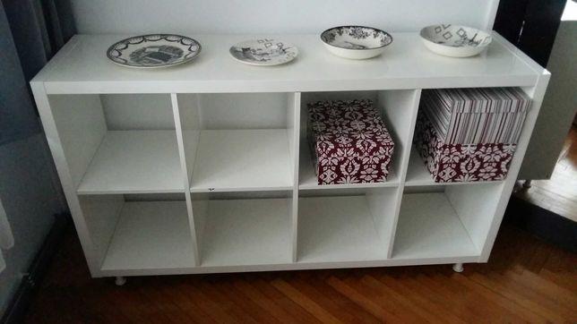 Regał IKEA Kallax Biały Połysk 147 x 77