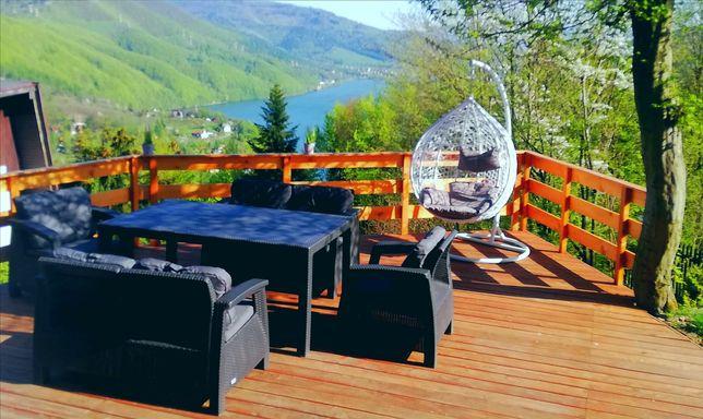 Domek w górach do wynajęcia,sauna Międzybrodzie Bialskie,piękny widok