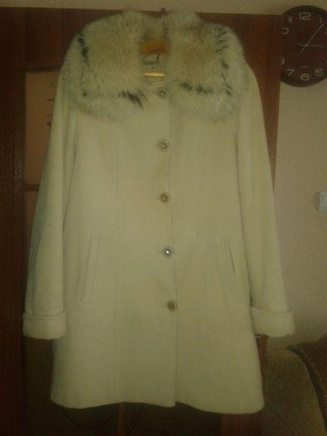 Зимнее пальто куртка кашемир