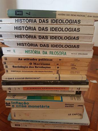 Colecção cerca 200 livros Administração Pública.  Economia. Regionaliz