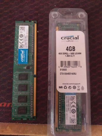 Crucial DDR3L 1600 2x4GB