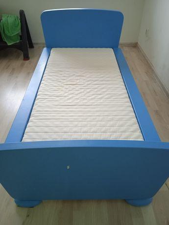 Łóżko dziecięce Ikea Mammut plus stolik półki i krzesełka