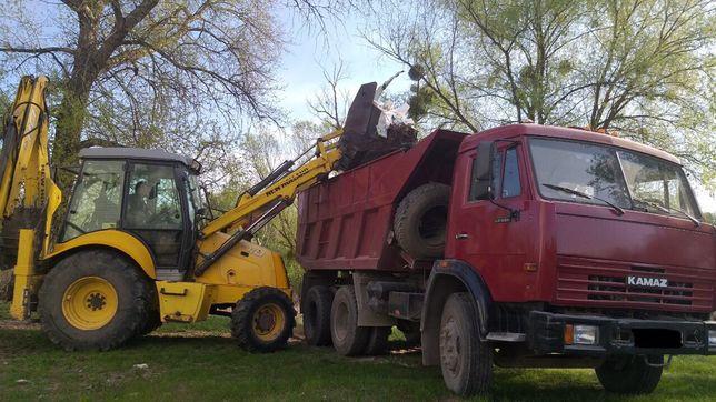 Вывоз строительного мусора, грузоперевозки Киев