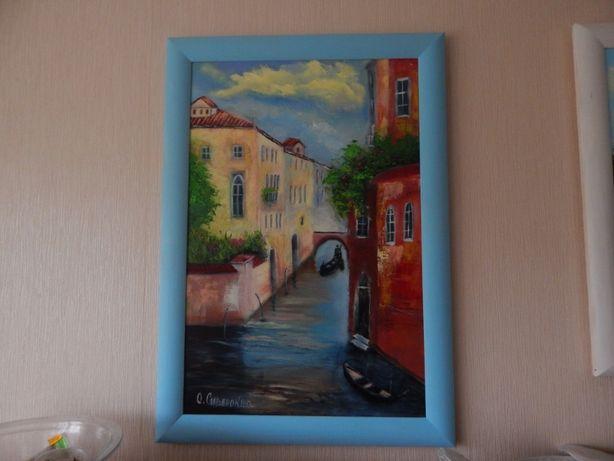 """Картина маслом """"Люблю Венецию"""""""