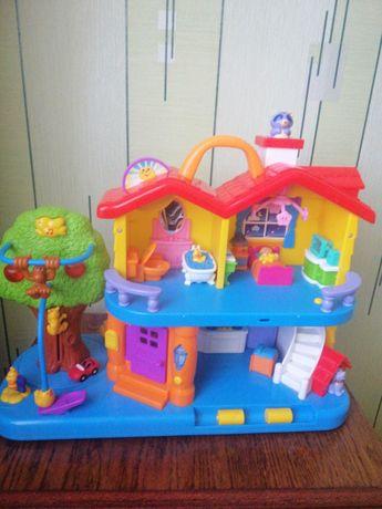 """Детская музыкальная игрушка """"Кукольный домик"""""""