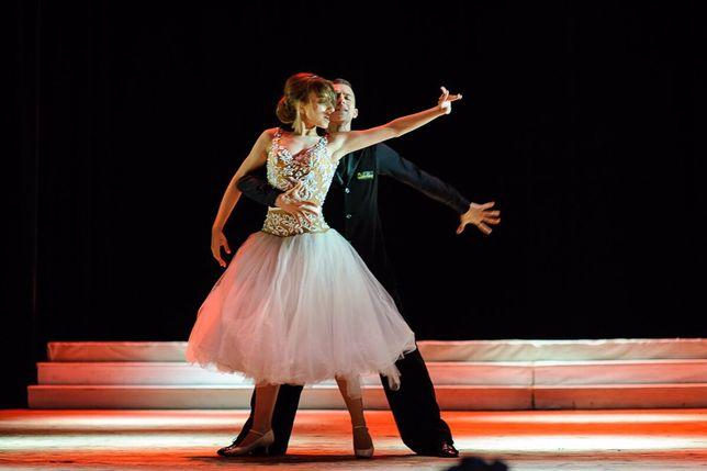 Платье для бальных танцев!