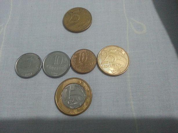 moedas do brasil; hungria; marrocos; polonia