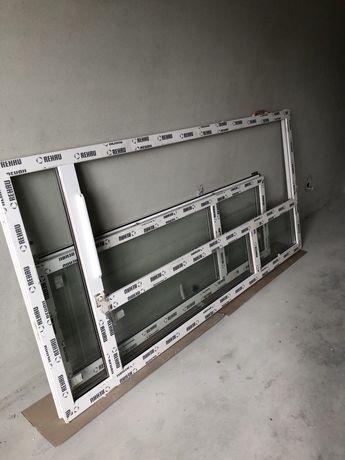 Пластикове вікно,двері на балкон,rehau