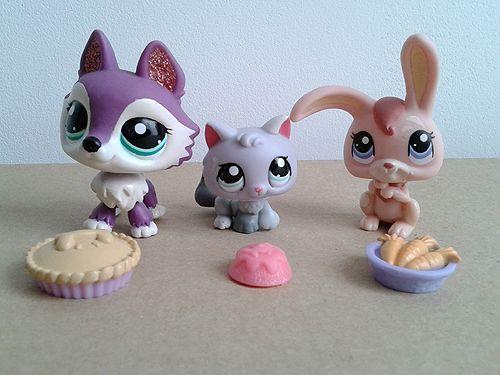 Littlest Pet Shop figurka królik