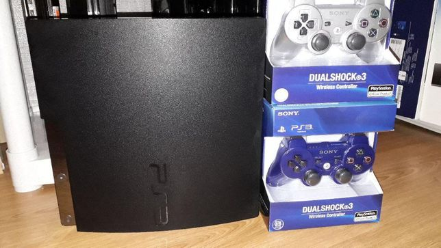 Игровая консоль продажа, PS3 SLIM прошитая 160Гб + Гарантия