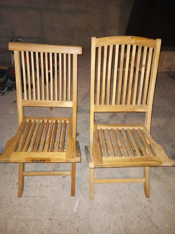 Cadeiras em madeira teka
