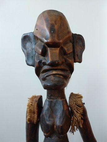 Rzeźba figura afrykańska kobieta