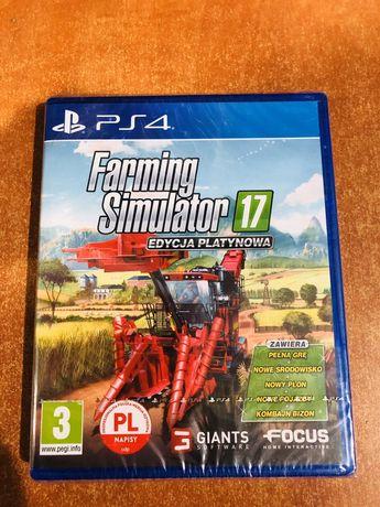 Farming Simulator 17 Edycja Platynowa PS4 (nowa)